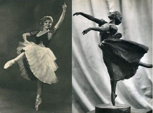 Ballerina Natalia Dudinskaya