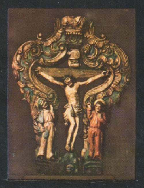 Crucifixion with the Virgin Mary and St. John the Evangelist