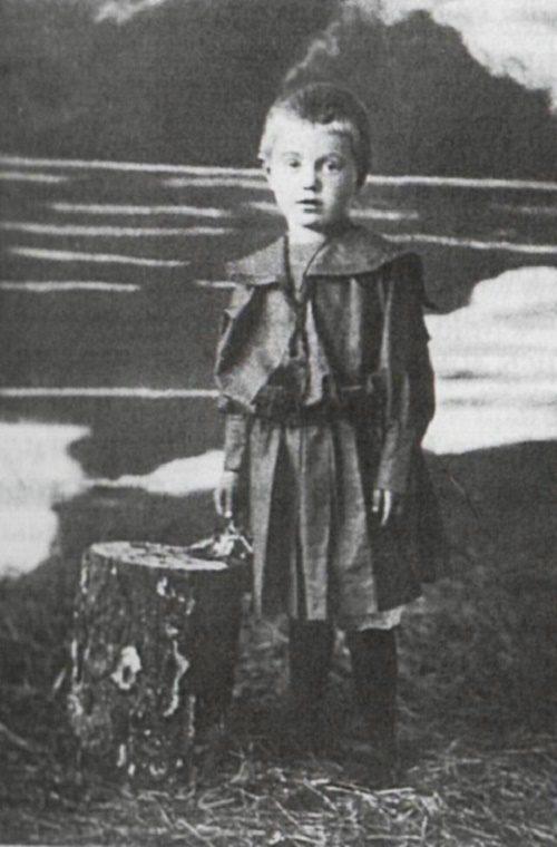 Little Vera Voloshina