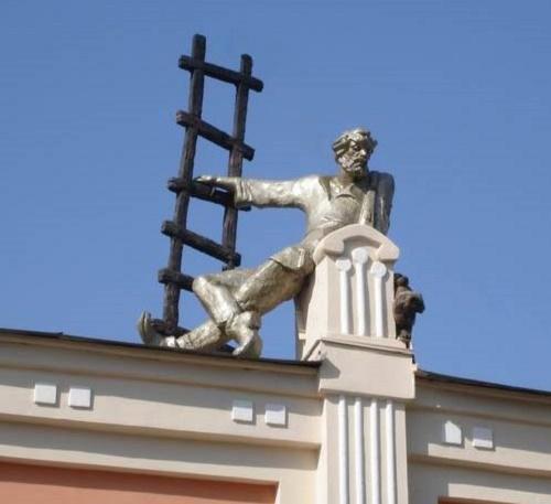 Chelyabinsk Monument to chimney-sweep