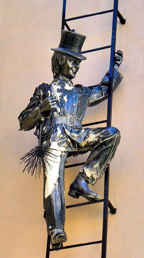 St. Petersburg Monument to Chimneysweep