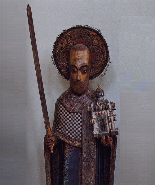 Perm Gods Wooden Sculpture