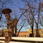Saint Petersburg Bronze Angel