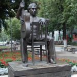 Therapeutic chair and other unusual monuments of Voronezh