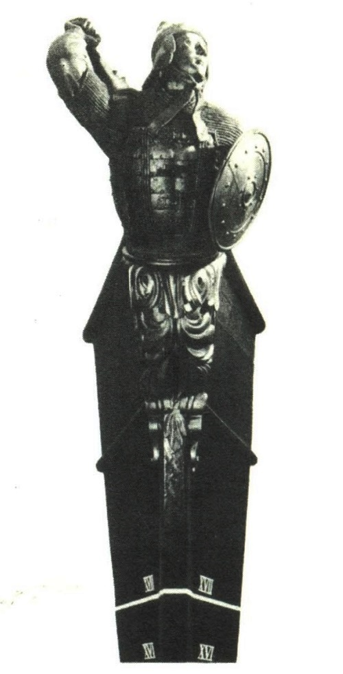 P. Klodt. Bow decoration of screw corvette Vityaz. 1862. Russian traditional ship sculpture