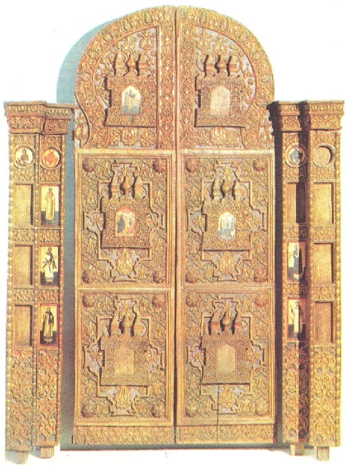 Royal Doors with columns