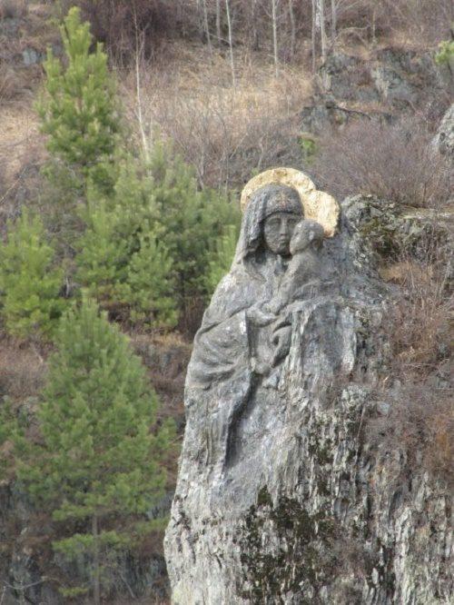 Unique rock icon of Virgin