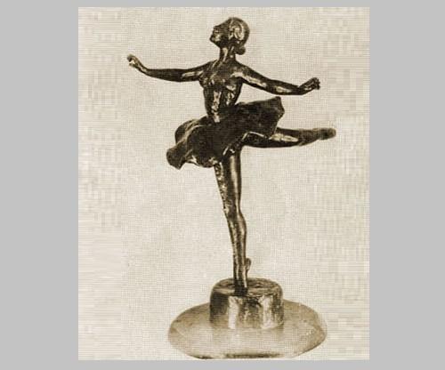 Ballerina. Piruet