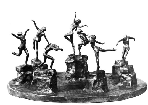Dance Suite. Bronze. 1937