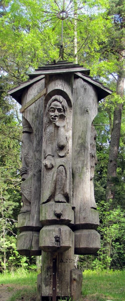 Lithuanian wooden sculpture