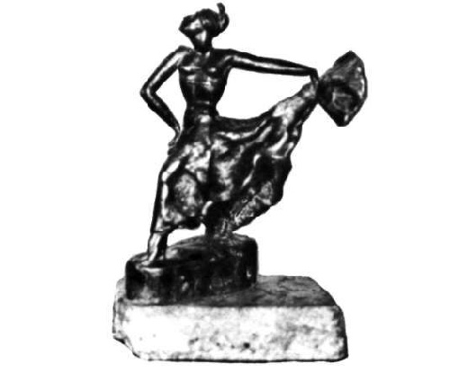 Spanish Dance. Bronze. 1938