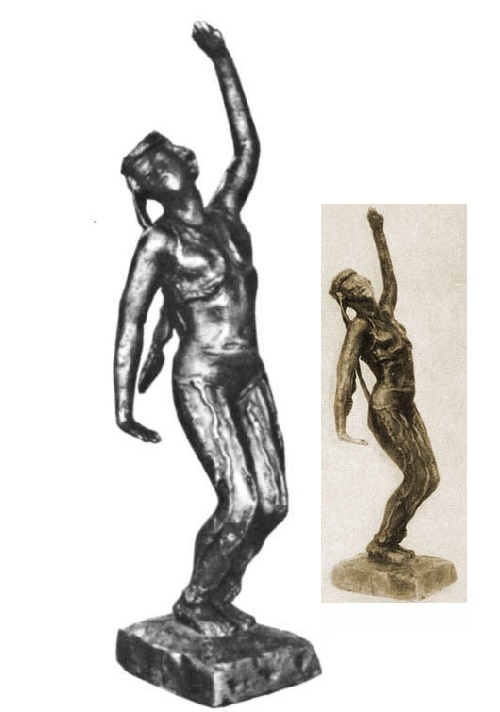 Tatar Dance from 'East Suite'. Bronze. 1946-1947