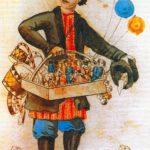 An illustration. Korobeinik