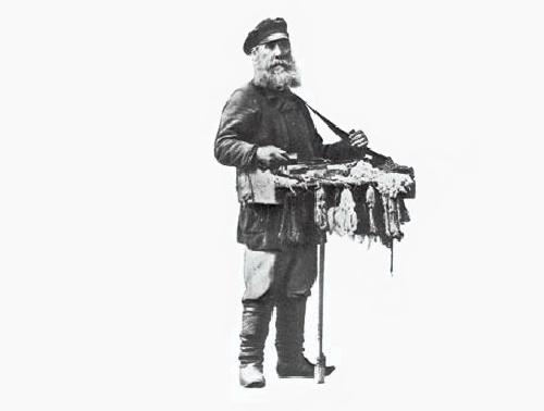 Street seller Korobeinik, or Ofenya