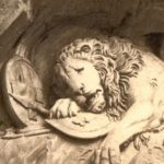 Mortally Wounded Lion Monument in Lucerne