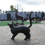 Favorite cartoon characters Sculptural park