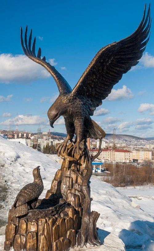 Pavel Bazhov mountain sculptural park
