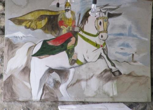 Uastyrdzhi Ossetian God