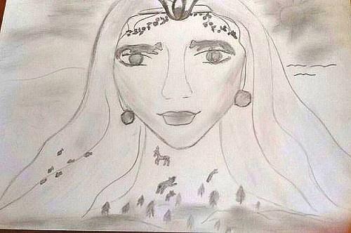 a sketch of Valentina