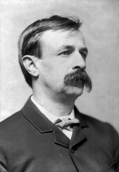 American writer Edward Bellamy (March 26, 1850 – May 22, 1898)