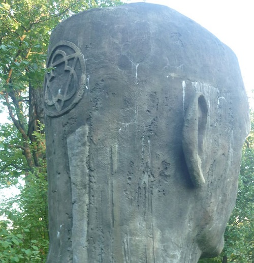 Monument to the drowned - Kolokshinsky Istukan