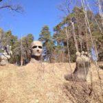 Last touch - Penza Jeweler monument