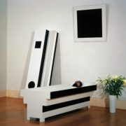Corpse of art. 2003 installation devoted to Malevich. Art group Irwin