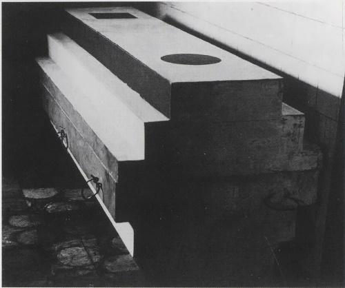 Malevich coffin-architecton designed by Nikolai Suetin