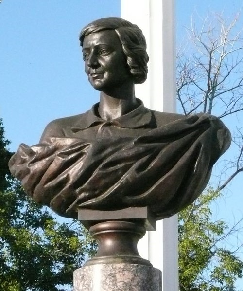 Monument of Marina Tsvetaeva in Elabuga