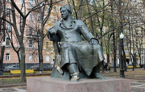 Moscow Monument to Krylov