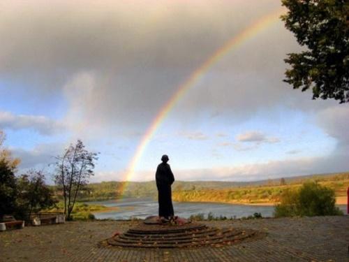 Rainbow in Tarusa