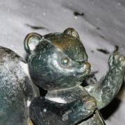 Teddy bear - detail of monument