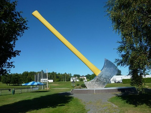 The World's Largest Axe