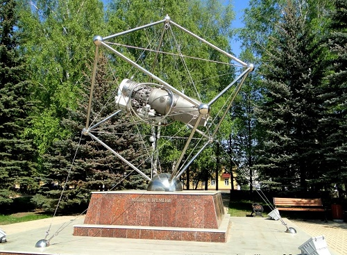 Ufa, Time Machine Monument