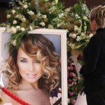Russian singer Zhanna Friske graveyard monument