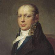 Andreyan Zakharov painted by Stepan Shchukin (1754–1828)