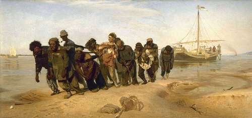 Barge Haulers on the Volga, State Russian Museum, St Petersburg