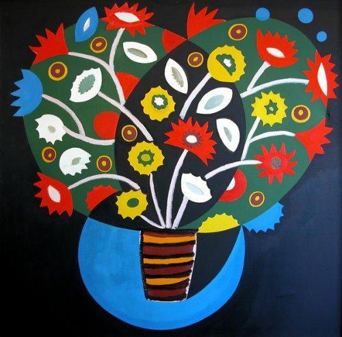 Decorative bouquet. 1993