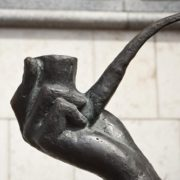 Famous smoking pipe of Sherlock Holmes