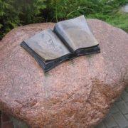 Monument to Thomas Mann, Svetlogorsk 2003
