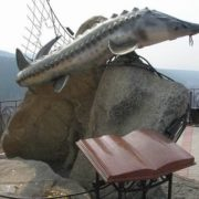 Monument to king-fish Czar