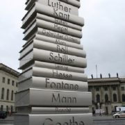 Monument to the great German books, Berlin 2006
