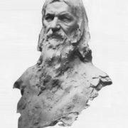 Sculptor N.L. Aronson. Bust of Rasputin