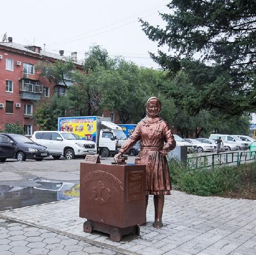 Snowmaiden - Ice-cream seller Zinaida Sinitsyna