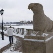 Meanwhile, in Kaliningrad is the similar sculpture - the figure of elephant installed on the Lake