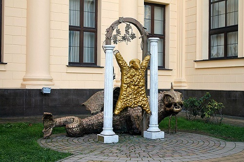Sochi. Golden Fleece monument