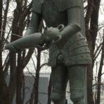 Children of War monument in Orenburg