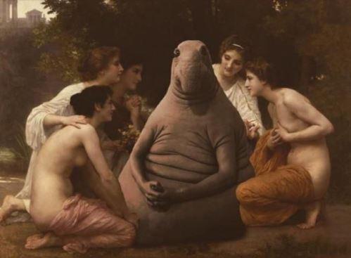 William-Adolphe Bouguereau 'Admiration' 1897