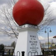 Cornelia apple monument in Georgia