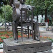 Monument to Vladimir Vysotsky in Voronezh